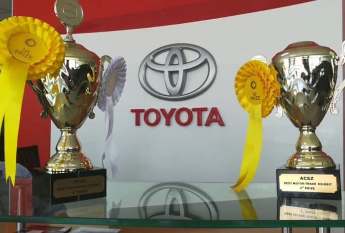 Toyota receives 3 awards at Agricultural and Commercial Show