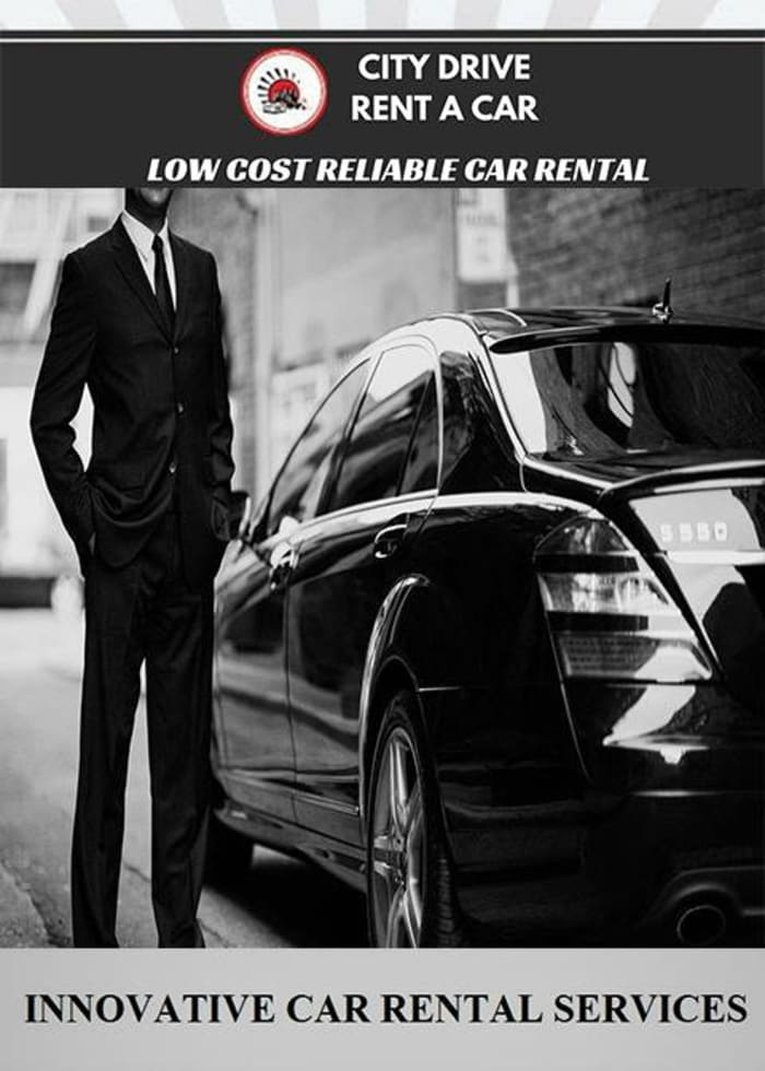 Selection of luxury rental cars available