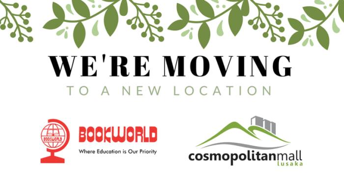 Bookworld's Makeni Mall branch to move to Cosmopolitan Mall