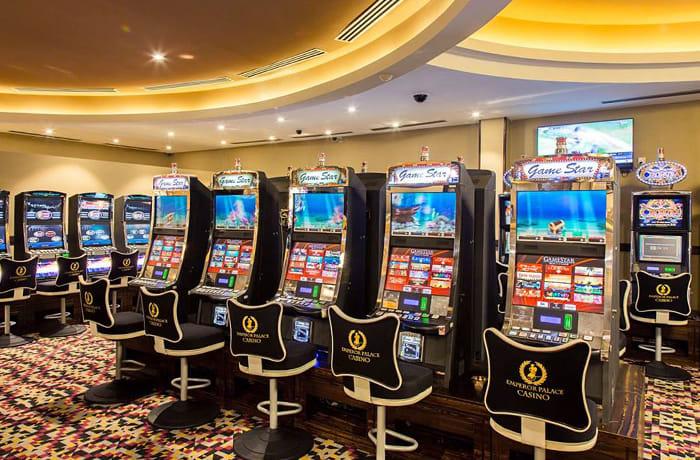 The main floor casino