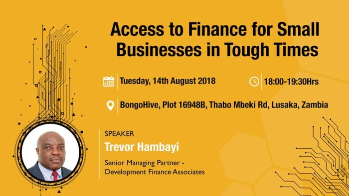 Access to Finance for Small Businesses in Tough Times with Trevor Hambayi
