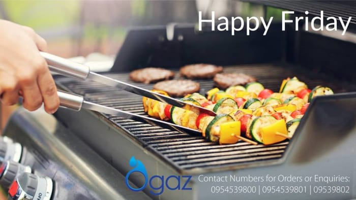 Free OGaz deliveries in Lusaka