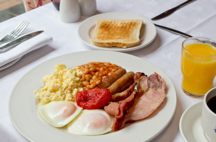 Hearty breakfasts with the emphasis on fresh ingredients