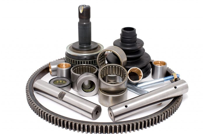 Complete array of automotive parts and accessories