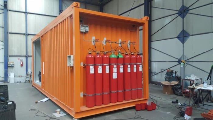 Fire protection solutions for data centers