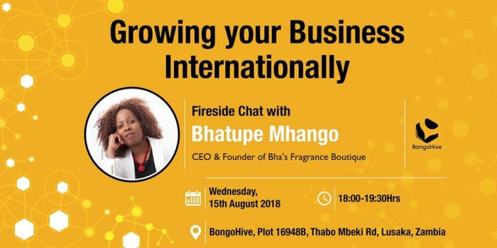 Growing your Business Internationally – Fireside Chat with Bhatupe Mhango