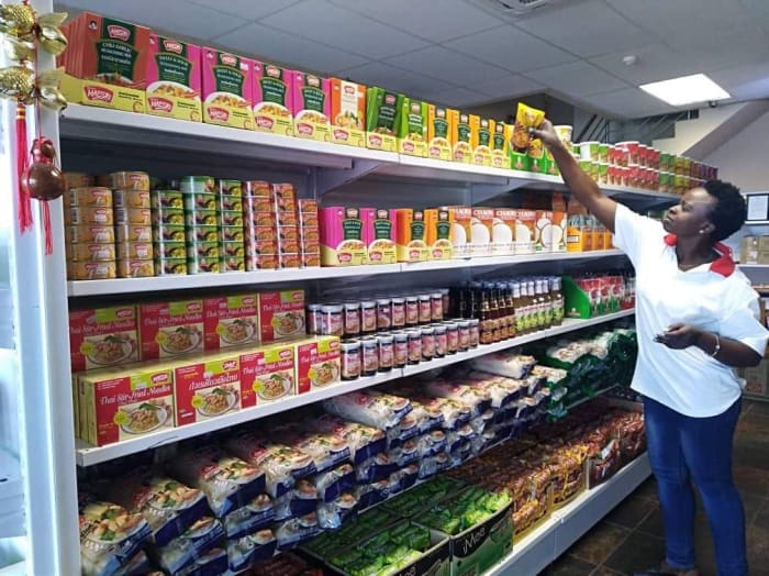 Well stocked with over 230 Asian brands to choose from