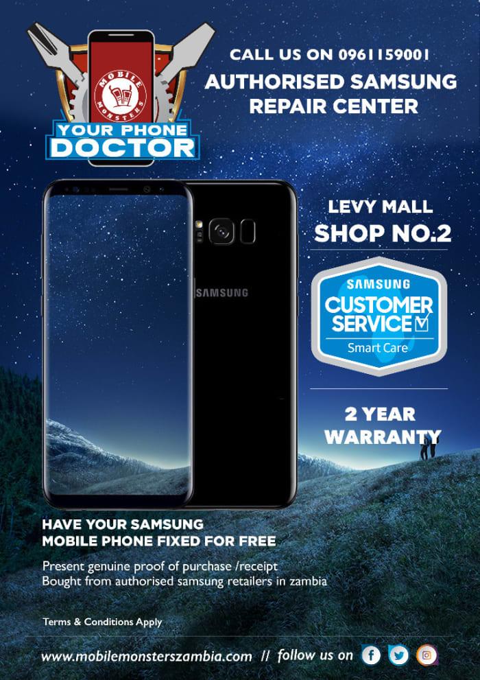 Authorised Samsung repair center