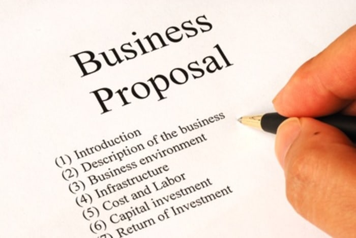 Business proposals for clients wishing to expand