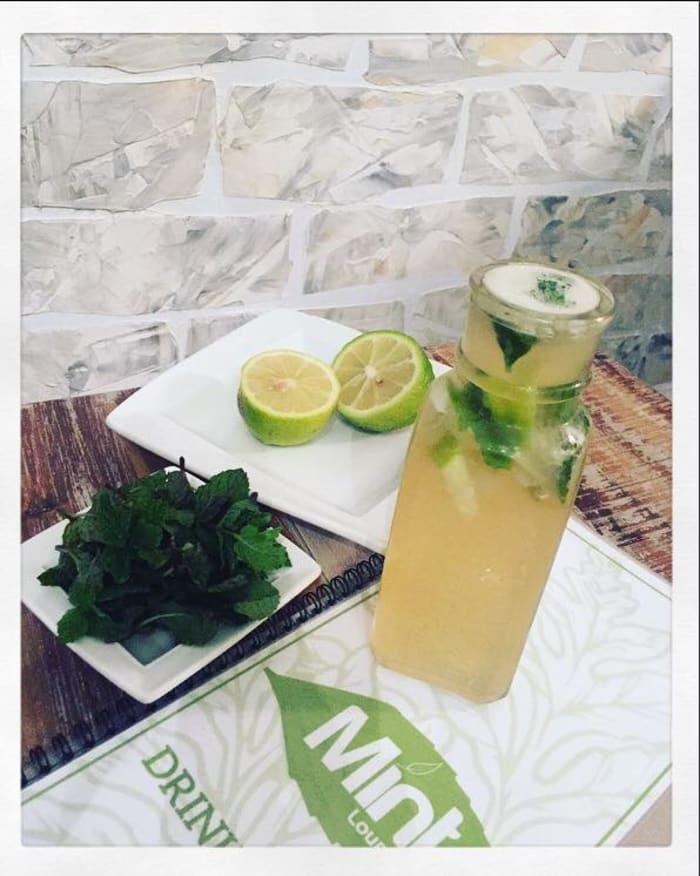 Fresh Lemon & Mint Ice Tea