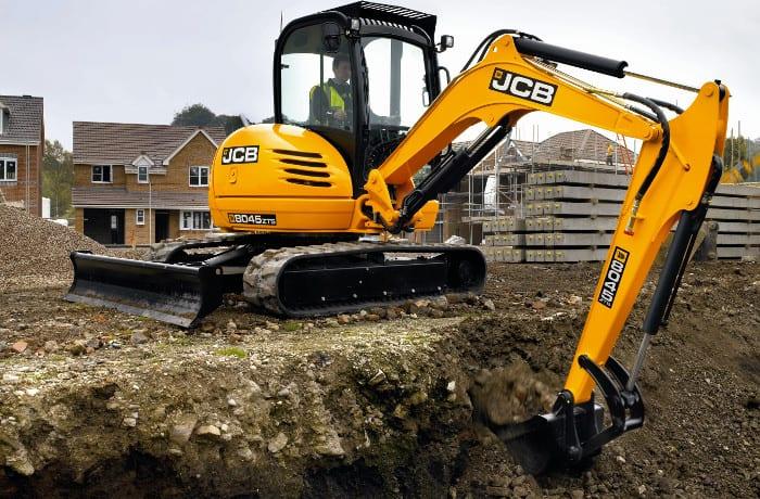 Mini, midi and large Hydraulic Excavators