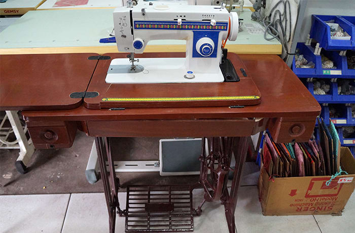 Sewing machine brands available at Madina Sales
