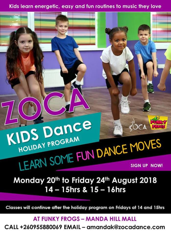 Zoca - Kids Dance Holiday Program