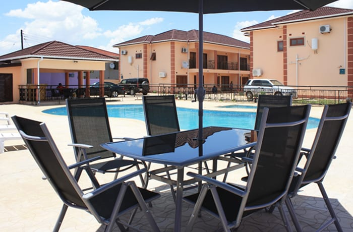 Affordable apartment accommodation in Lusaka