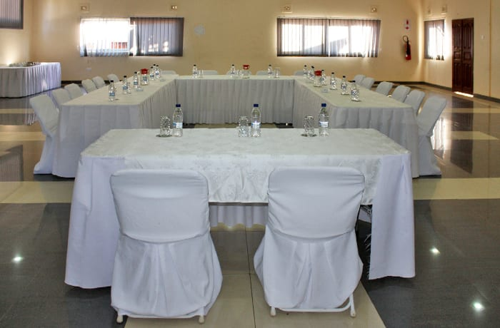 Conference venue can host up to 250 guests