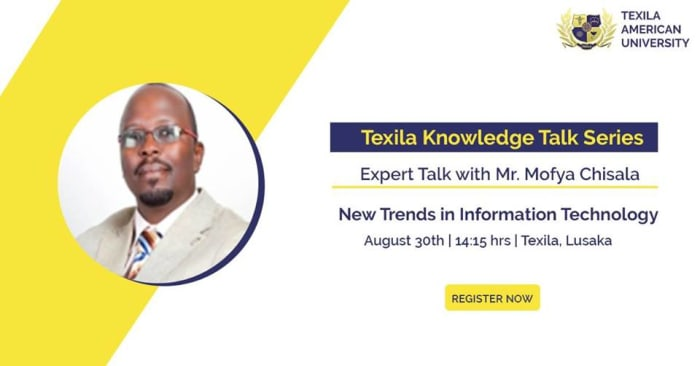Texila Knowledge Talk Series: Trends in Information Technology