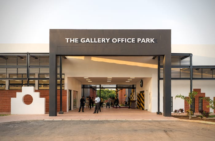 Features designed to improve quality of work at The Gallery Office Park