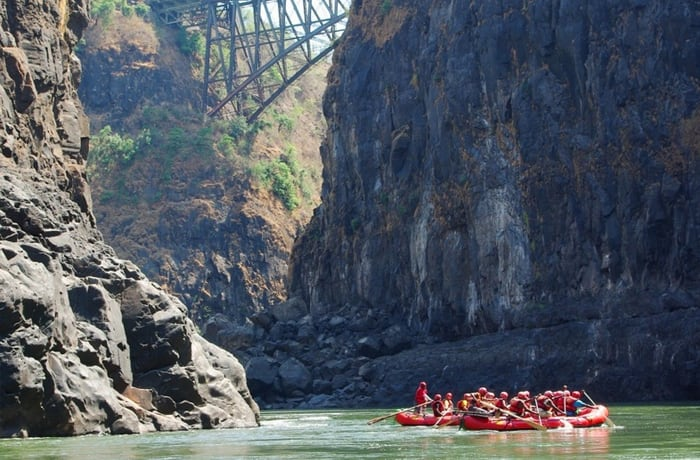 Confirmed dates for Zambezi overnight rafting trips