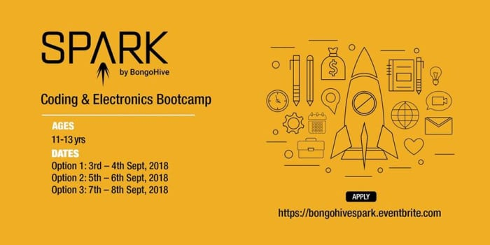 SPARK - Coding and Electronics Bootcamp