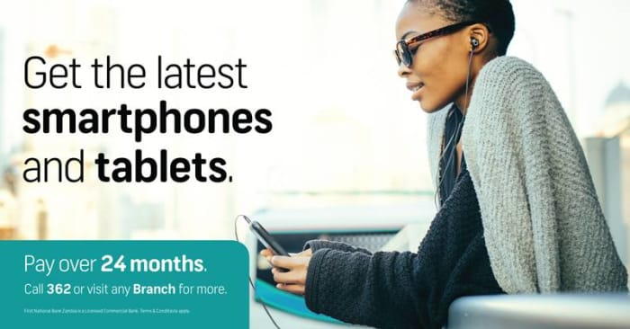 Get the latest smartphones, tablets and laptops with FNB Smart Devices