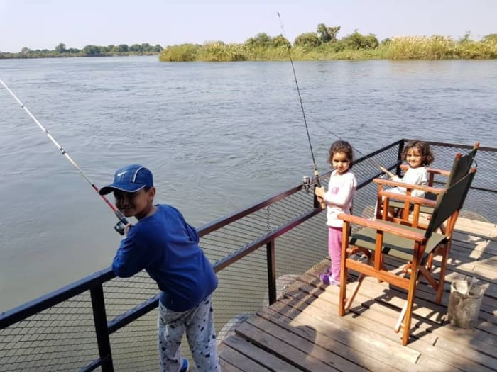 Take your kids for a fishing adventure in the Lower Zambezi National Park