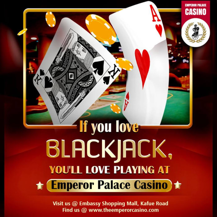 If you love Blackjack you'll love playing at Emperor Palace Casino