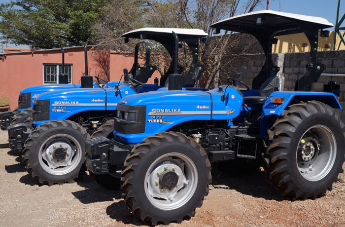 Highly reputable brands of tractors