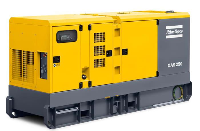 Authorised dealer for Atlas Copco's range of power generators