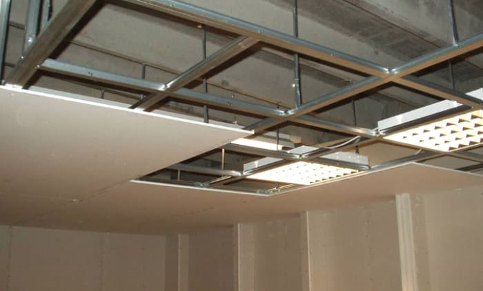Suspended ceiling installations