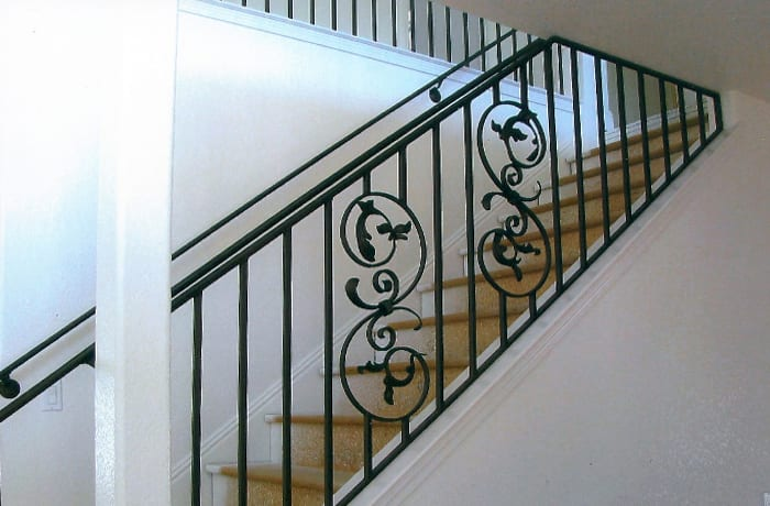 Fabricates ornamental iron pieces to owners' specification