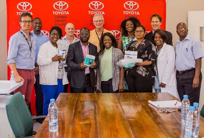 Toyota donates Medical Equipment to BeitCure Hospital