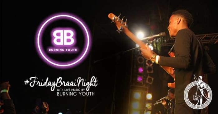 Friday Braai Night with Burning Youth Live