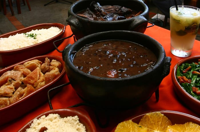 Heavily influenced by a mix of African, indigenous and Portuguese cuisines