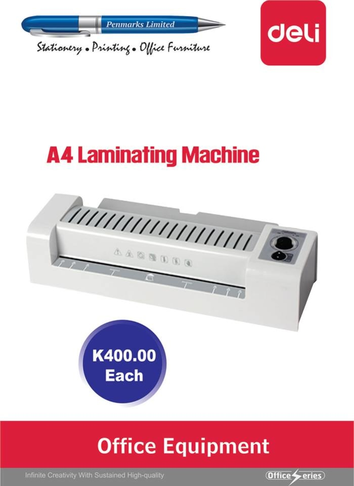 A4 laminating machines