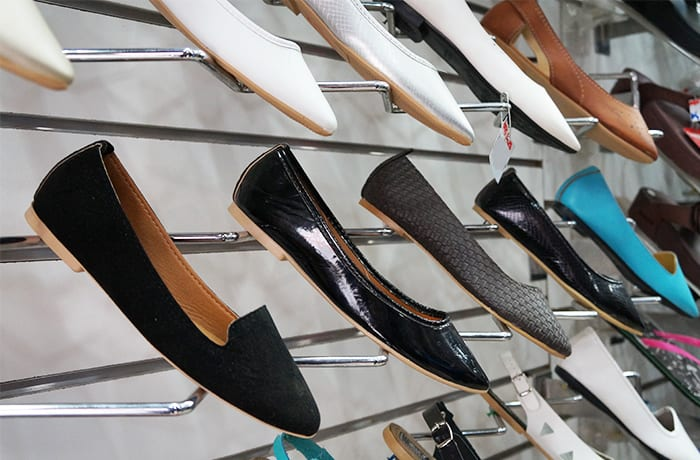 Large range of shoes in stock