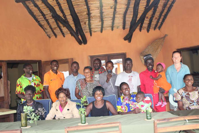 Kasanka Trust welcomes the Village Banking Group for a game drive