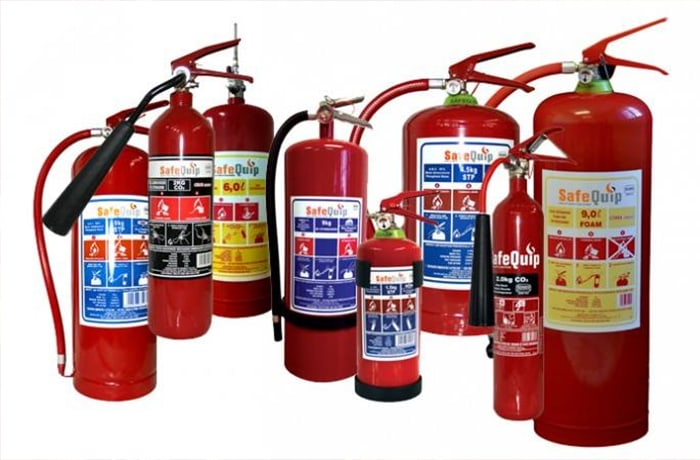 Inspect, service and recharge portable fire extinguishers
