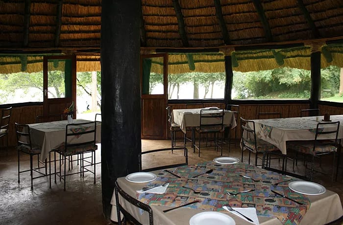 Restaurant is available to guests staying at the self-catering chalets and for conference delegates
