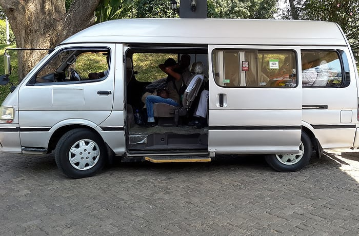 Transfer from Livingstone Airport to your hotel or safari lodge