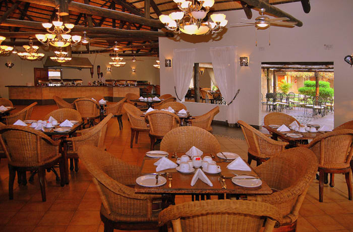 International cuisine - choose from three restaurants