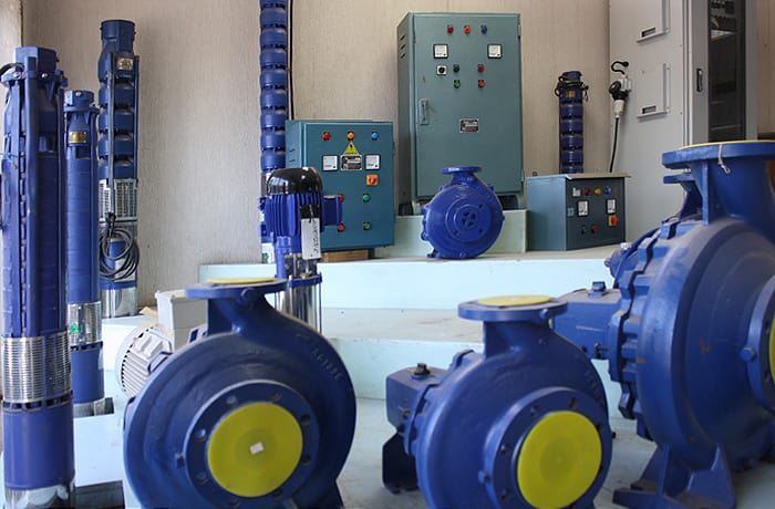 Pumps and equipment