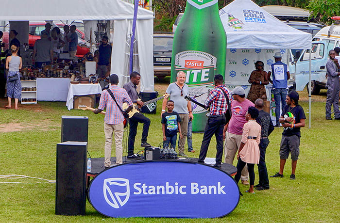 Live bands who call Lusaka home