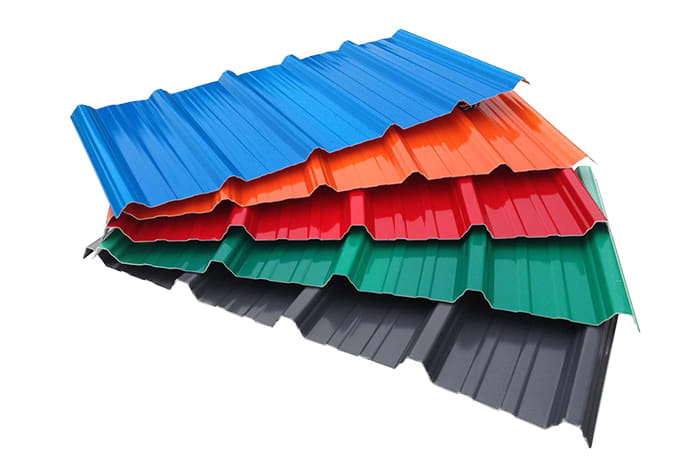 Visit Sonar International for galvanised Chromadek, Bond-Deck and Spandeck roofing systems