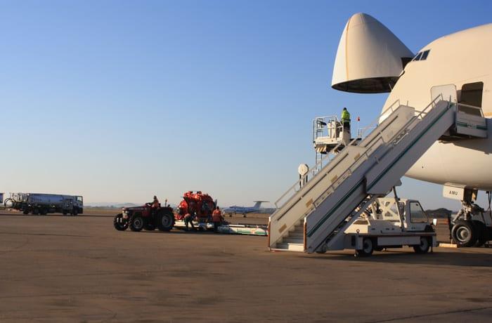 NAC2000′s passenger handling services