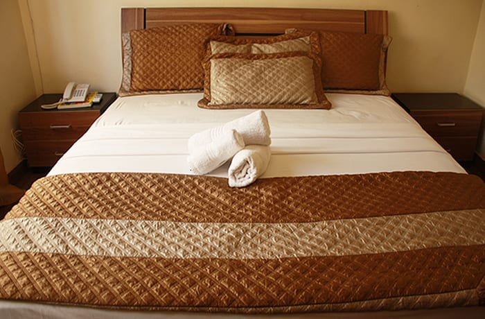 14 well furnished and spacious rooms