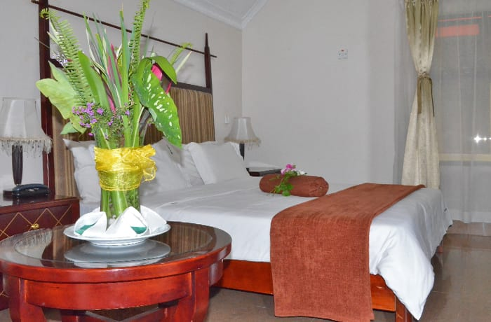 Quality accommodation with 21 chalets