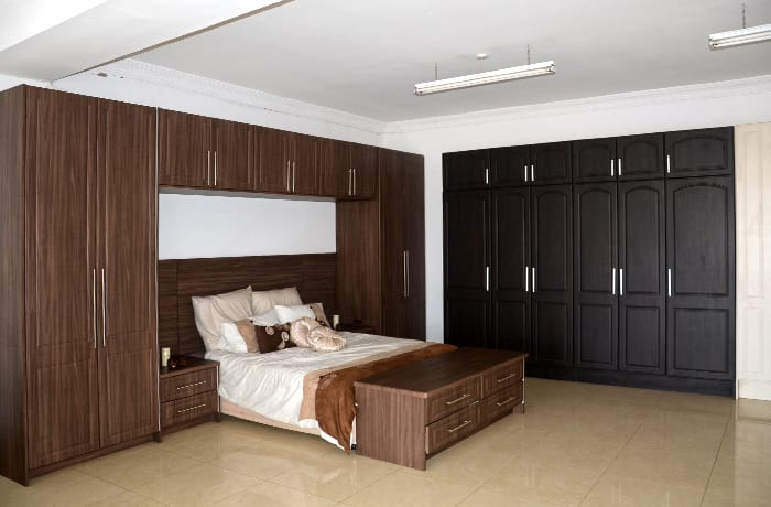 Wardrobe units for design-led bedrooms