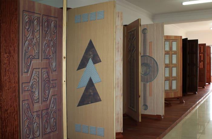 Comprehensive range of gypsum doors