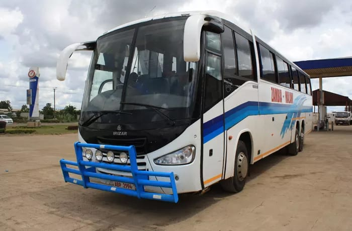 Daily departure times, Lusaka to Chipata