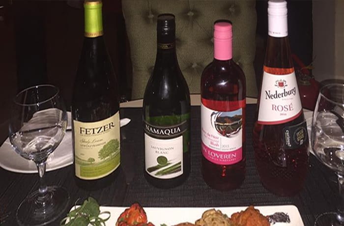 A wide selection of good wines and whiskeys to match every dish